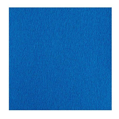 Untersetzer Scheiben Größe 10 x 10 cm Farbe petrol blau 100% Merino Filz 5 mm