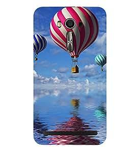 Kingcase Printed Back Case Cover For Asus Zenfone 2 Laser ZE601KL - Multicolor