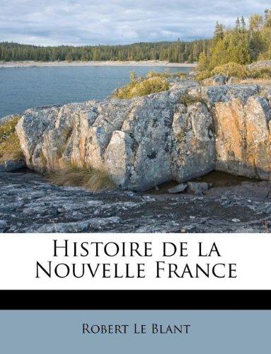 Histoire de la Nouvelle France