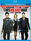 This Means War (Blu-ray/DVD + Digital Copy Combo Pack) [Blu-ray]