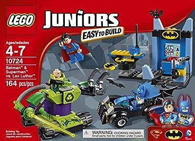 LEGO Juniors 10724 Batman & Superman vs Lex Luthor Building Kit (164 Piece) by LEGO