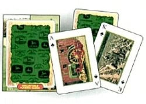 John Deere Vintage Ad Playing Cards - 1