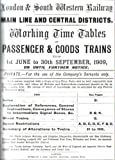 Working timetables of passenger goods trains, 1st June to 30th September 1909 London and South Western Railway Company