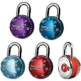 Master Lock Sphero rundes Zahlenschloss 50 mm - Farblich sortiert, 2076EURDAST