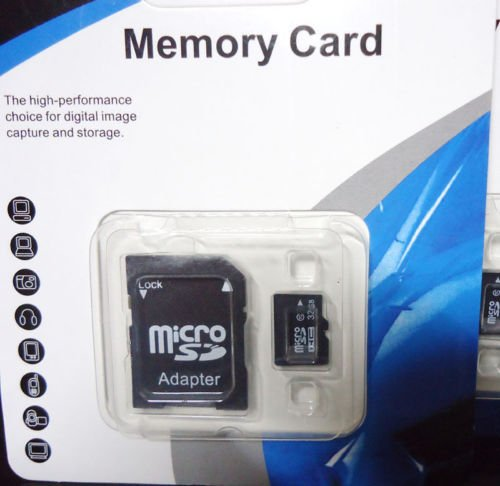 32GB Micro SD SDHC TF Memory Card Class 10 w/ SD Adapter For Smart Phones Tablet (Sd Micro Card 32 Gb Class 10 compare prices)