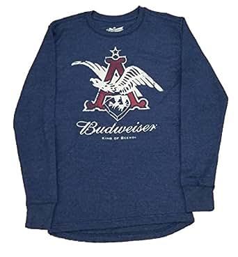 budweiser king of beers vintage long sleeve