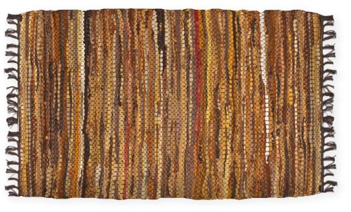 Extra Weave USA Tucson Leather Rug, 2 x 3