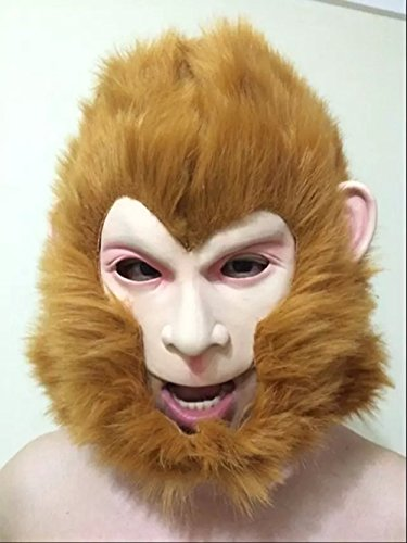 Animal Latex Mask Monkey Mask For Cosplay,Mask Festival,Halloween,Dance Party Costume