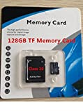 128GB Micro SD Card Class 10 TF Flash Memory + Adapter SDHC + USB Reader 4 in 1