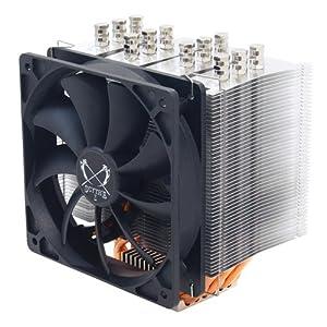 Scythe Mugen 3 Rev.B SCMG-3100 CPU Cooler 120 mm / Supported Sockets 775 / 1156 / 1366 / AM2 / AM2+ / AM3 / AM3+ / 2011 / FM1