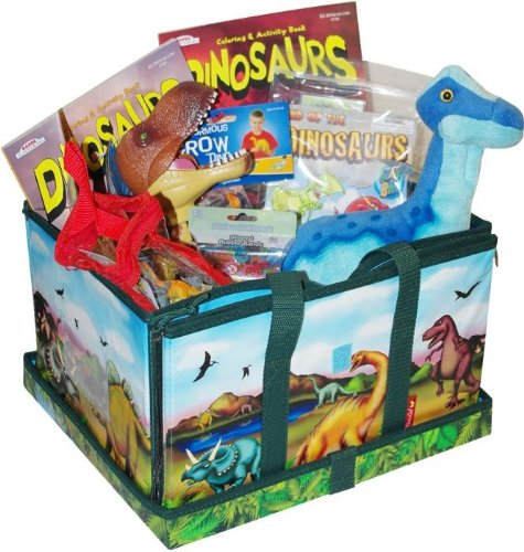 Unique easter baskets easy and cheap ideas infobarrel medium dinosaur toy gift assortment in a large neat oh dinosaur zipbin amazon price 6499 buy now price as of jul 19 2013 negle Image collections