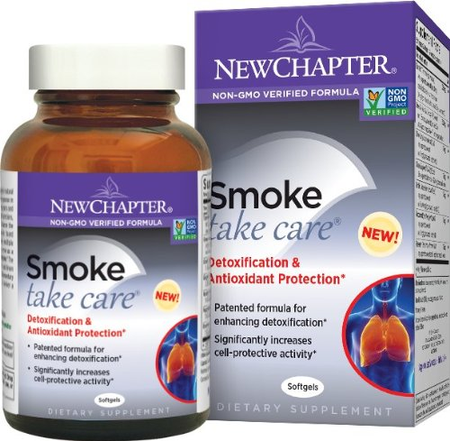 New Chapter Smoke Take Care, 60 Softgels