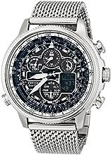 Comprar Citizen JY8030-83E - Reloj para hombres, correa de acero inoxidable color plateado