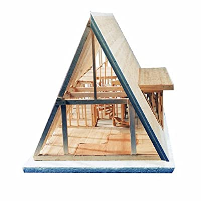 Midwest Products 101-IC A-Frame Cabin Crafts Kit for Grades 6-12