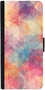 Snoogg Cube Spaces Designer Protective Phone Flip Case Cover For Micromax Canvas Juice 2