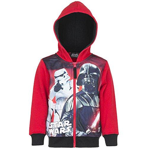 STAR WARS giacca con cappuccio-Felpa da ragazzo Rot 104 cm