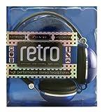 Sentry HO278 Retro High Performance Stereo Headphones Blue