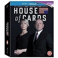 House of Cards - Season 1-3 [Blu-ray] [Region A]