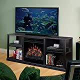 For Purchase Dimplex Cornet TV Stand with Electric Fireplace in Black