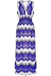 G2 Chic Women's Printed Summer Maxi Dress