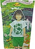 (US) Linnea Paper Doll with Green Pants and Leafy T-shirt