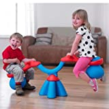 TP Spiro Bouncer Seesaw - Red/Blue (TP983)