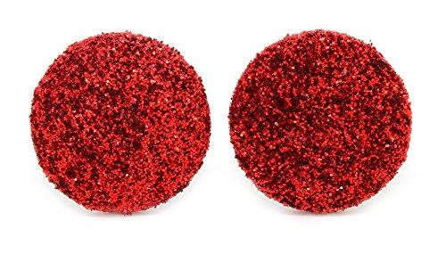bluebubble-disco-nights-20-mm-rosso-rubino-glitter-orecchini-con-confezione-regalo