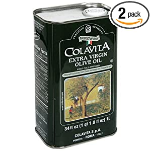 Deals Colavita Extra Virgin Olive Oil, 34-Ounce Tins (Pack of 2)