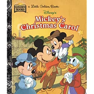 Disney's Mickey's Christmas Carol (Little Golden Book)
