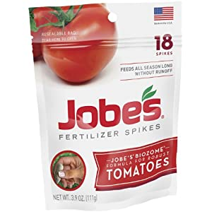 Jobe&#8217;s 6005 18-Pack Tomato Outdoor Fertilizer Food Spikes