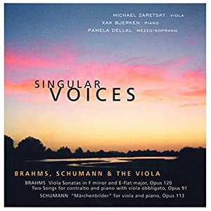 Singular Voices: Brahms, Schumann & the Viola
