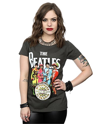 The-Beatles-mujer-Sgt-Pepper-Camiseta