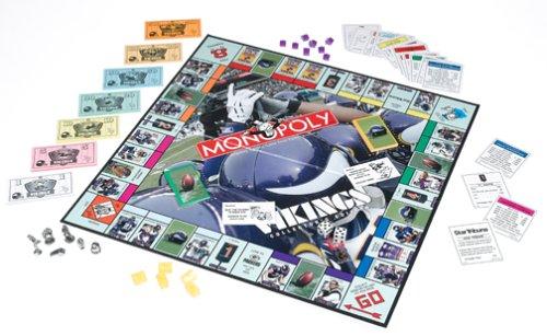 Minnesota Vikings Monopoly Toyzonkers Com Miles Of Toys