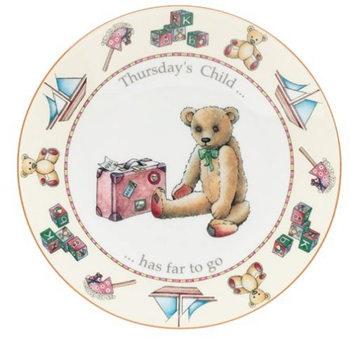 Buy Royal Worcester Days of the Week Earthenware 8-Inch Plate, Thursday