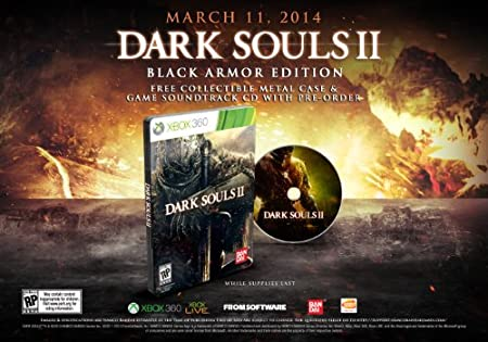 Dark Souls II (Black Armor Edition) - Xbox 360 Black Armor Edition Edition