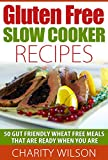 Gluten Free Slow Cooker Recipes: 50 Gut Friendly Wheat Free Meals That Are Ready When You Are (Gluten Free Diet Recipes and Cookbooks Book 2)