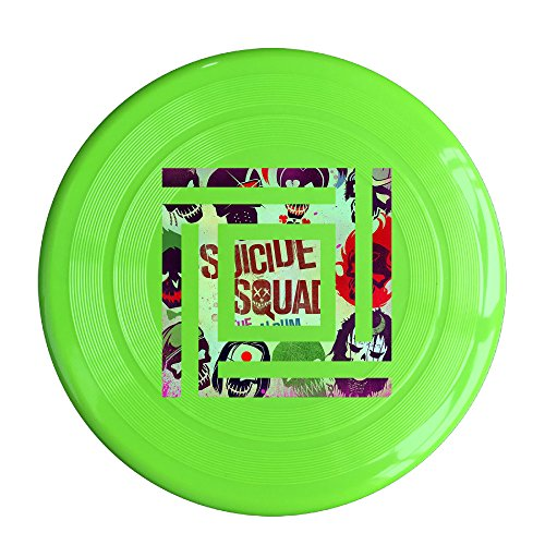 YQUE56 Unisex Pop Music Outdoor Game Frisbee Flying Discs KellyGreen