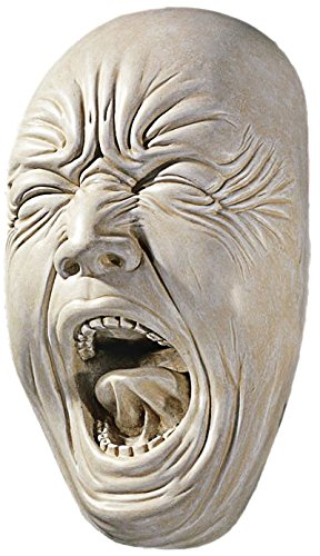 Design Toscano Screaming Simon Wall Sculpture