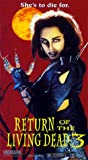 Return of the Living Dead 3 [VHS]