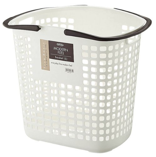 Lustroware L-5033AA Modern Feel Laundry Basket, Large (Laundry Large Basket compare prices)