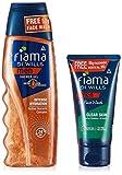 Fiama Di Wills Men Intense Hydration Shower Gel, 250ml With Free Fiama Clear Skin Gel Face Wash, 50ml
