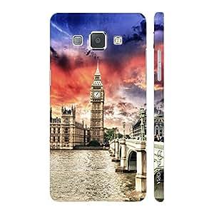 Enthopia Designer Hardshell Case Big Ben Back Cover for Samsung Galaxy A8