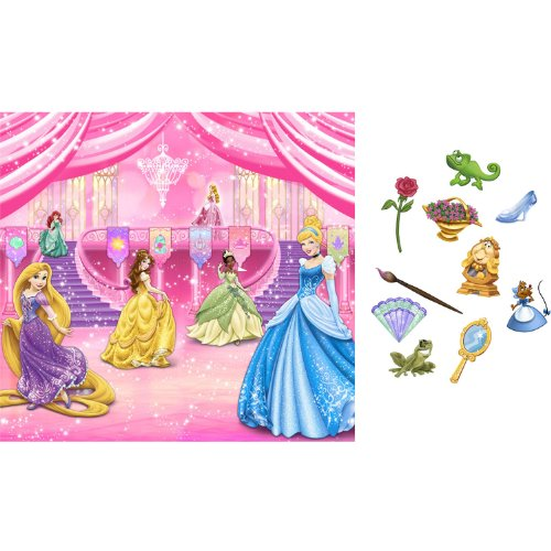 Disney Princess Royal Event Backdrop Kit