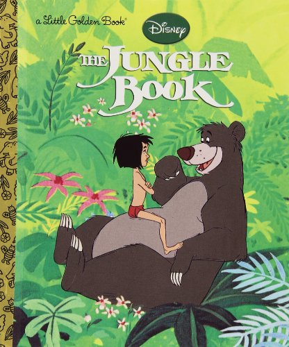 The Jungle Book (Disney The Jungle Book) (Little Golden Book) JungleDealsBlog.com