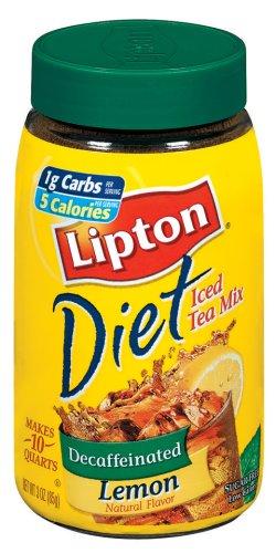 Lipton Instant Tea Mix, Diet Decaf, Lemon, 3 Oz