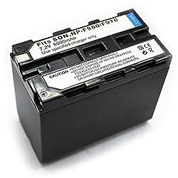 Powerpak F970 Fastpro Li-ion Digital Camera Battery Replaces Sony F970 Battery