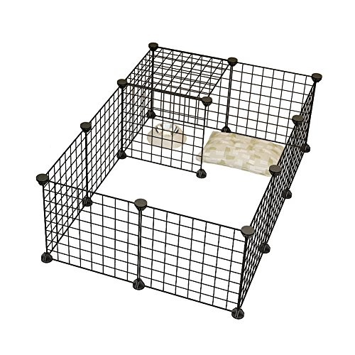 Dog Animal Playpen By COSYHOME Portable Large Metal Wire Yard Fence ...