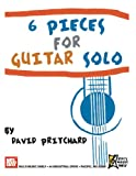 6 Pieces for Guitar Solo (0786682256) by Pritchard, David