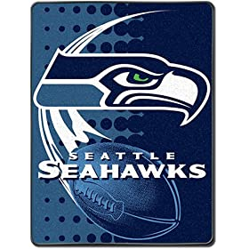 <b>Royal Plush Blanket Throw 60&quot; x 80&quot; - Seattle Seahawks</b>