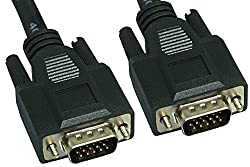Cablelera ZC77EWMM-100 Plenum Rated Super VGA, HD15 M/M, 100', 28AWG, Triple Shielded